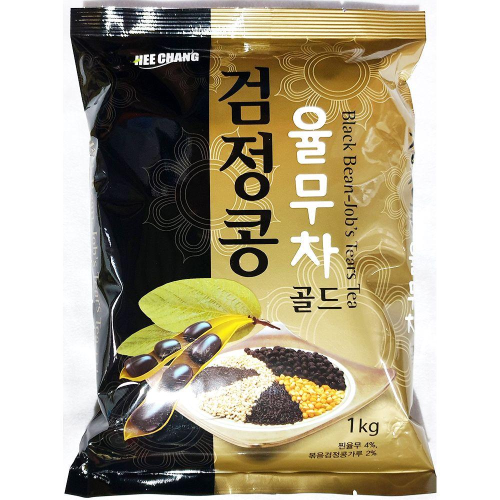 업소용 식자재 곡물차 검정콩 율무차골드 1kg X12