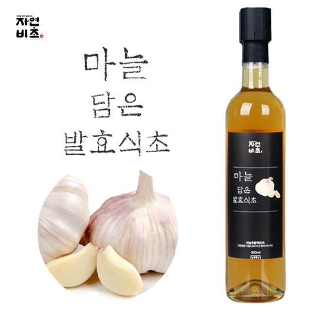 자연비초 마늘식초 500ml