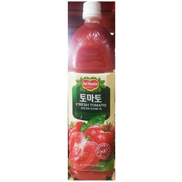 롯데 과채 주스 음료 토마토주스 1.5L 6EA