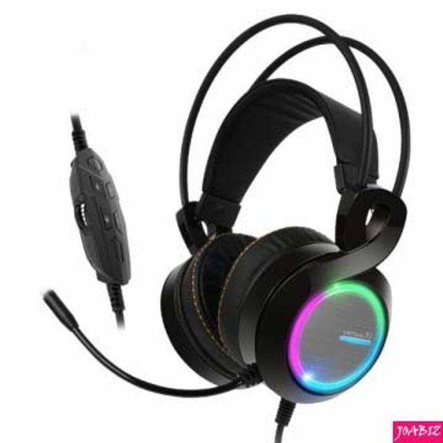 B770 PLUS 버추얼 7.1 진동 RGB 음성변조 블랙 PC용품