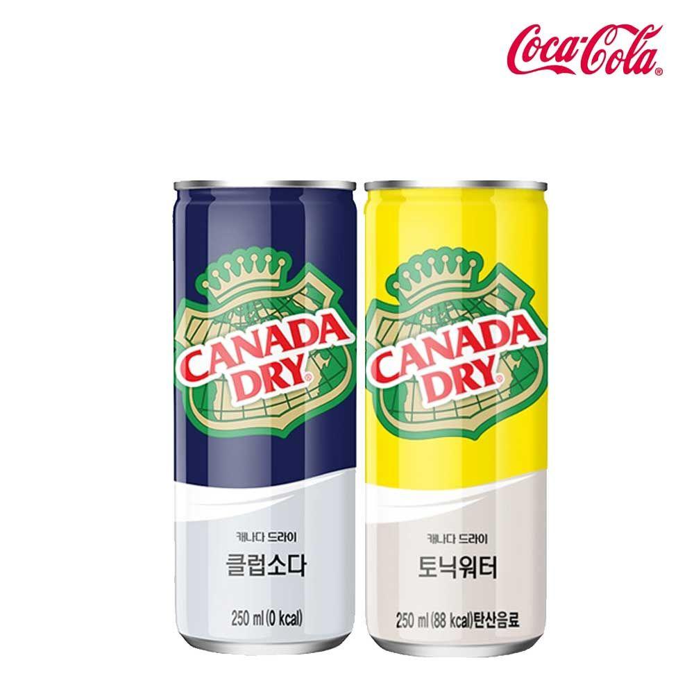 캐나다드라이 소다/토닉 250ml X 각15개(총30개)