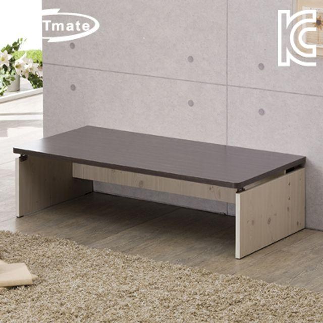 NETmate 좌식 책상 1200x600x320 월넛 컴퓨터 테이블
