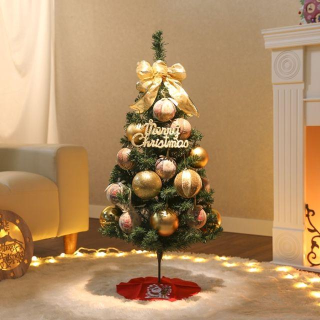 인테리어 90cm 골드타운 스카치트리 풀세트 트리 성탄절 크리스마스 장식 5408BA