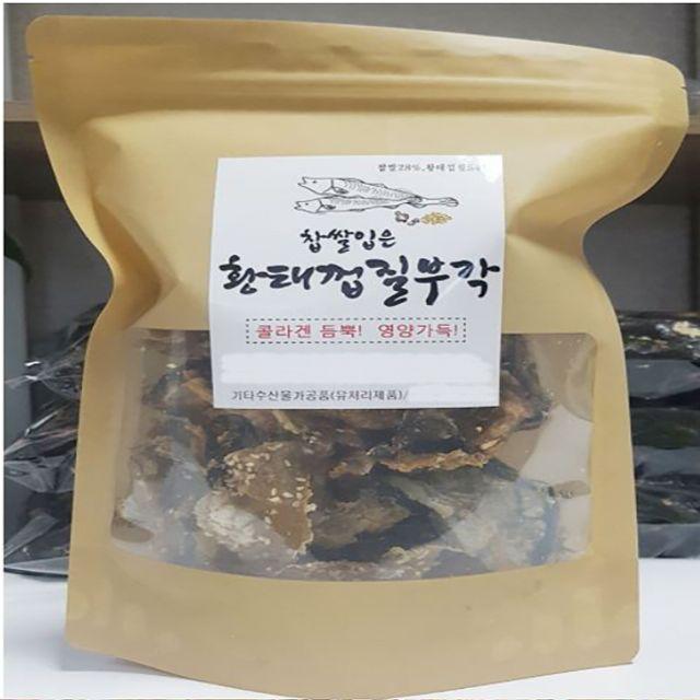 CMGY 남원 황태껍질 튀각 부각 황태부각 80g 2개