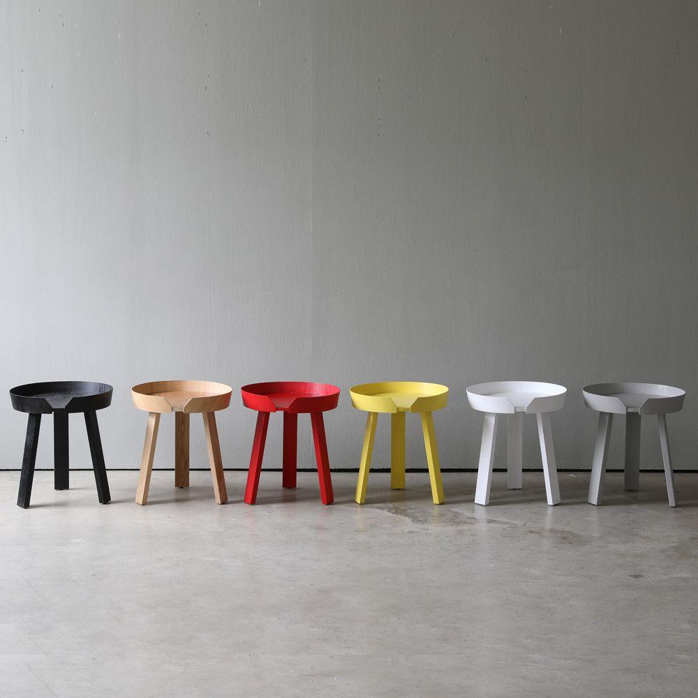 디센카르보 어라운드 원목 원형 테이블 M 5colors