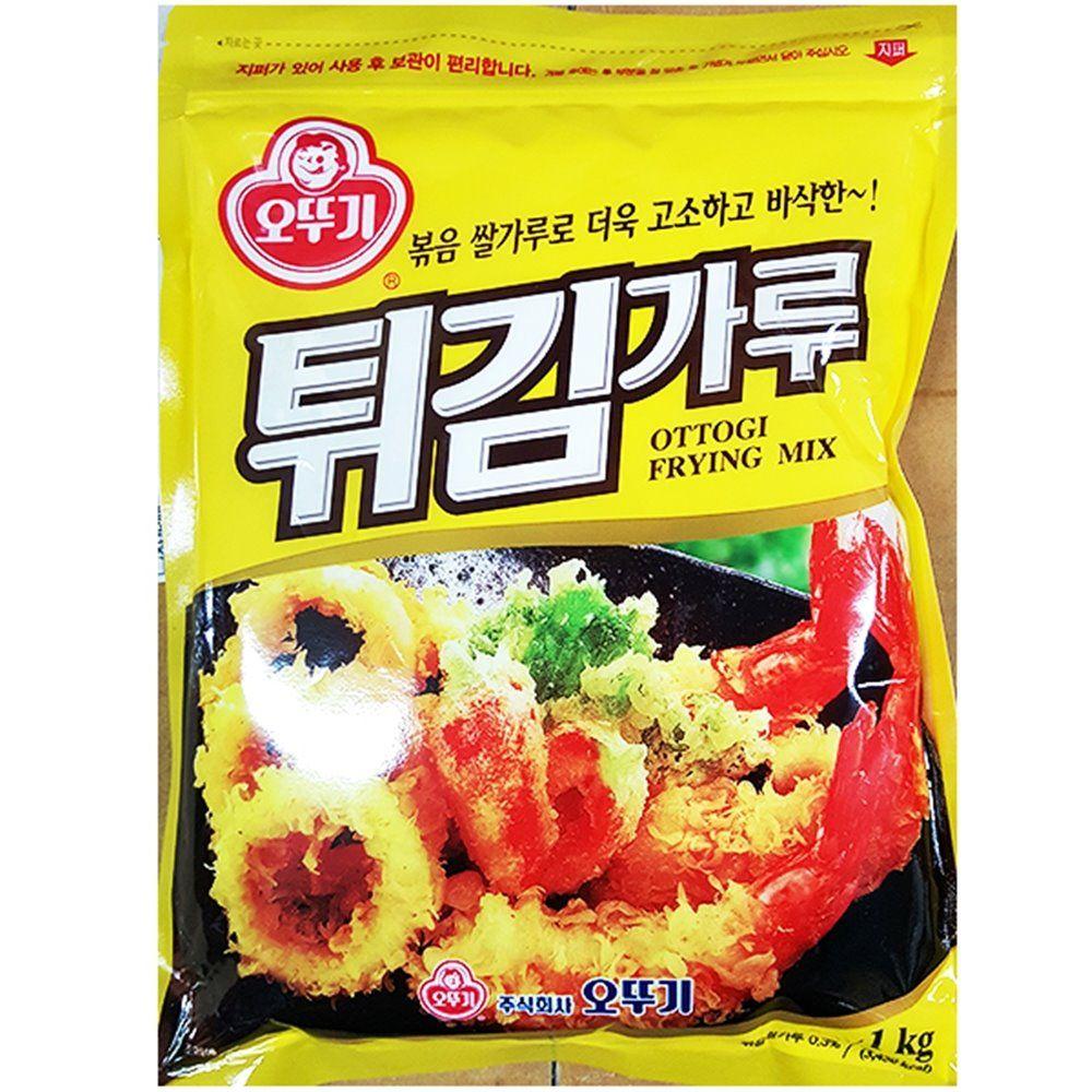 튀김 가루 오뚜기 1kg 튀김용 업소용 식당용 업소