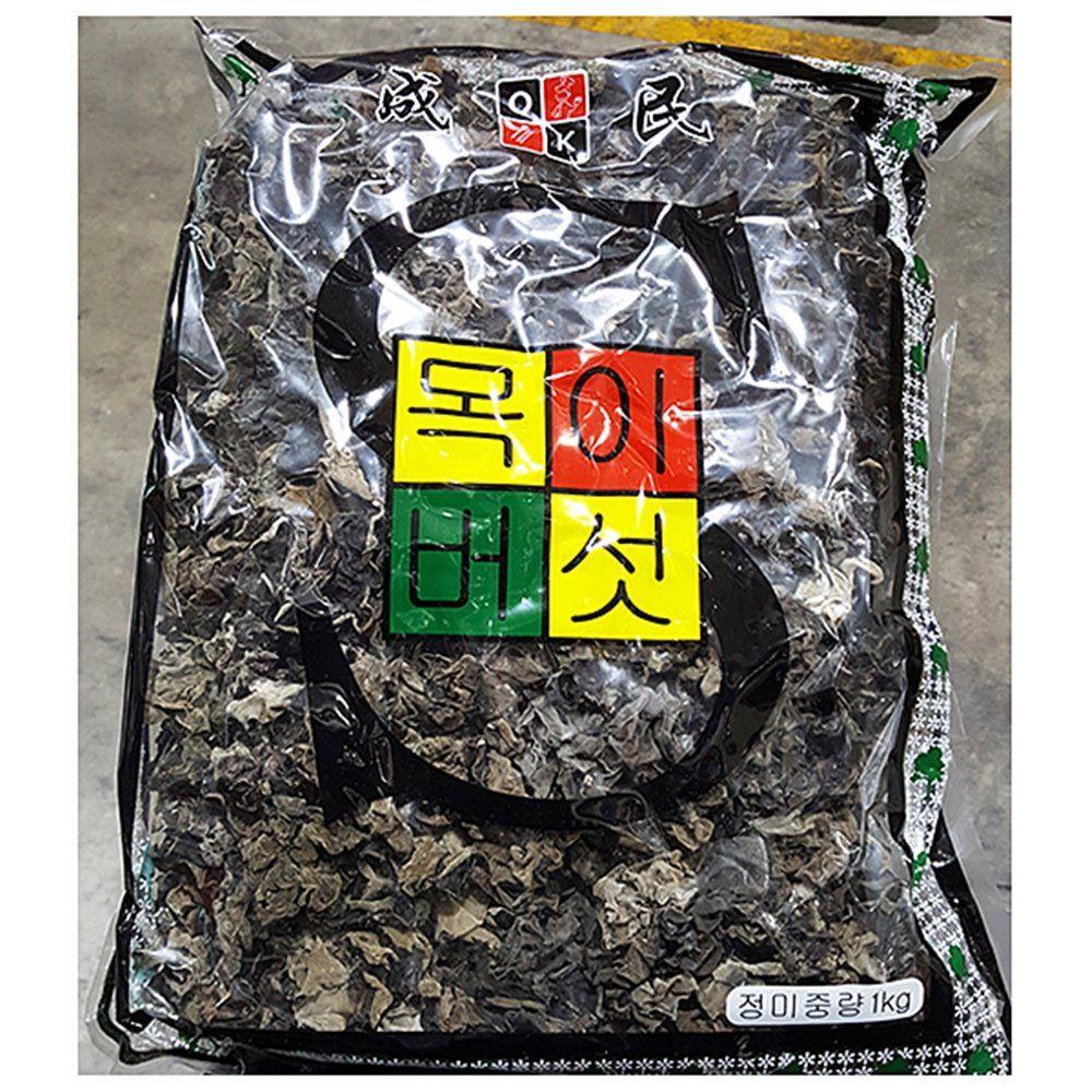 업소용 식당 식자재 재료 성민 흑목이버섯 1Kg X10