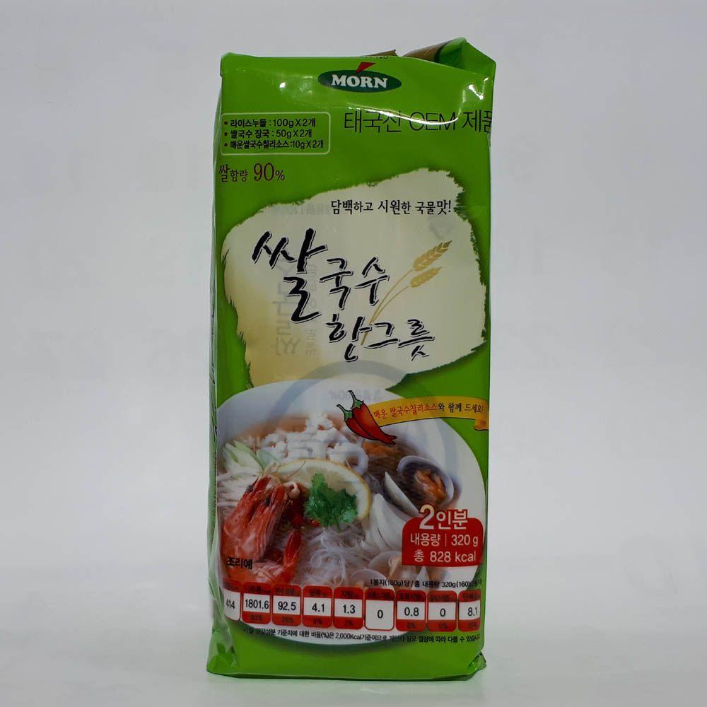 MORN 몬 쌀국수 한그릇 2인분 - 320g
