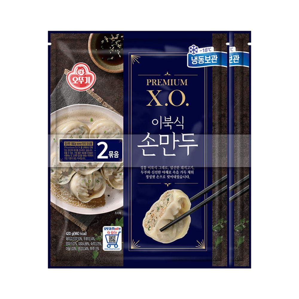 오뚜기 XO 이북식 손만두 420g 2봉 X 3개