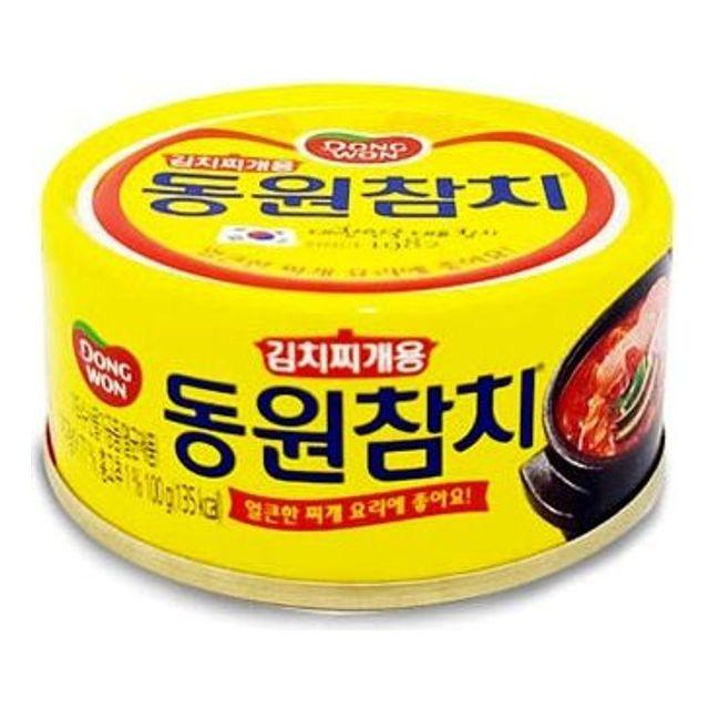 김치찌개용 동원 참치 얼큰한 찌개요리용 통조림 100g