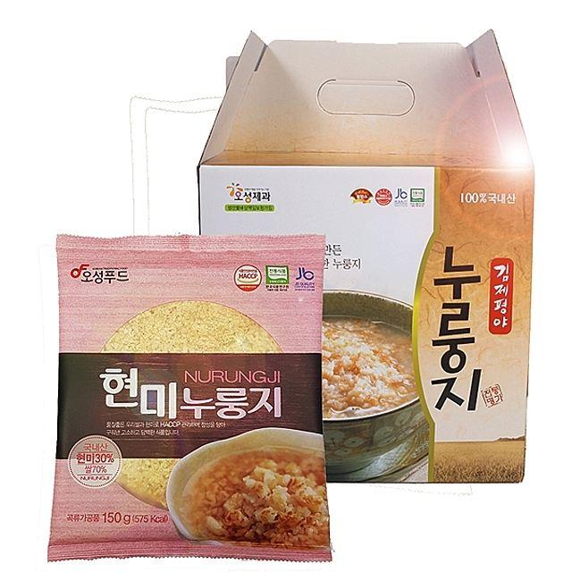 오성푸드 현미누룽지(150gx10봉)