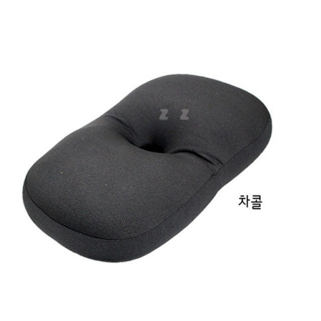 마이크로 에어볼 편안한잠 베개 차콜 안정 수면