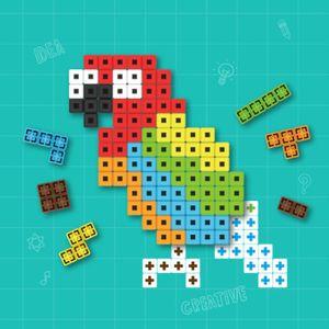 아이티알,MZ 어린이선물 AR 퍼즐놀이 8색 블럭장난감