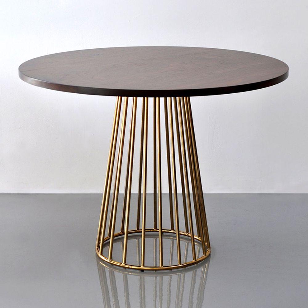 현대 단단한 나무 식탁 카페 찻집 원형테이블 북유럽