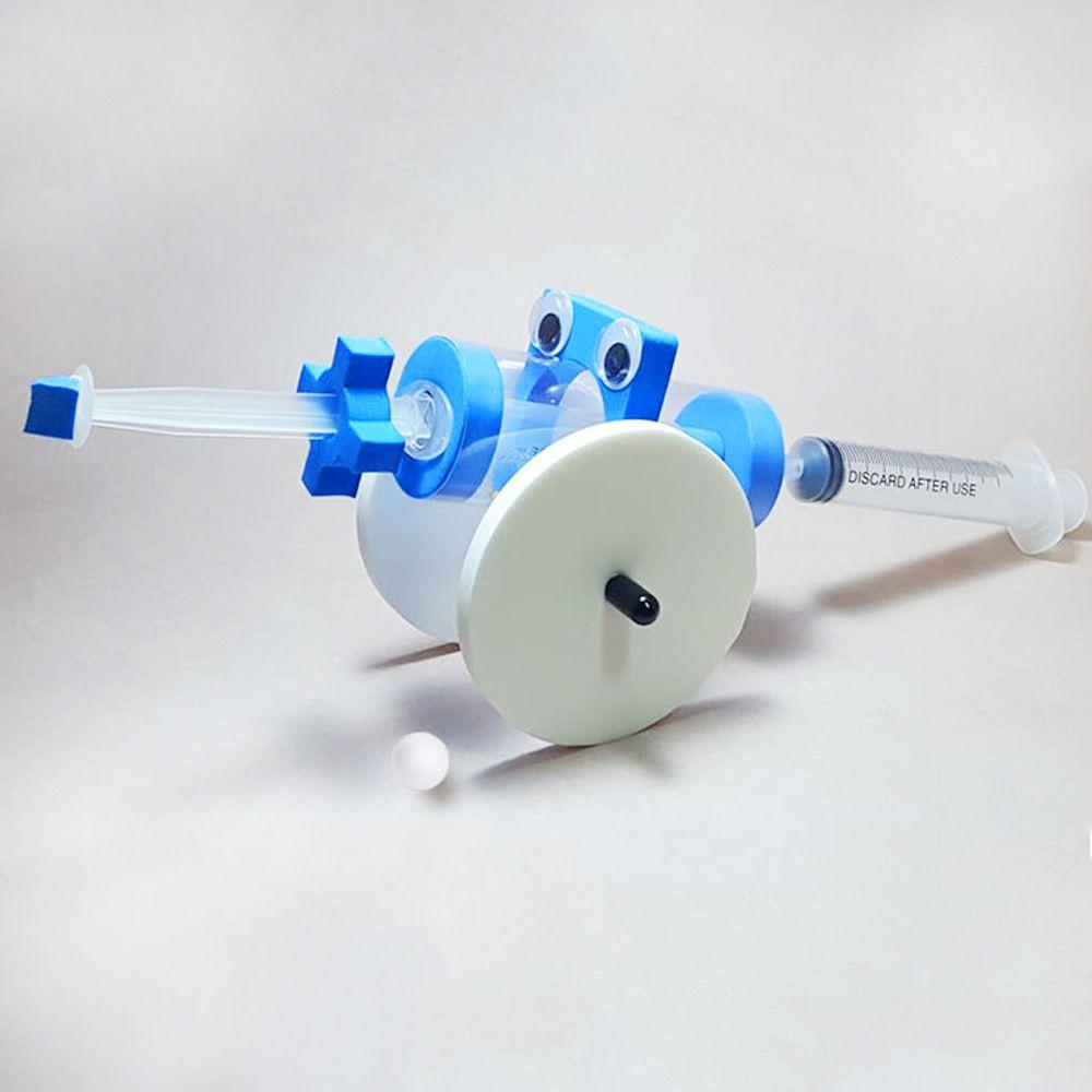과학 키트 공기압 대포 로켓 실험 상자 교구 초등