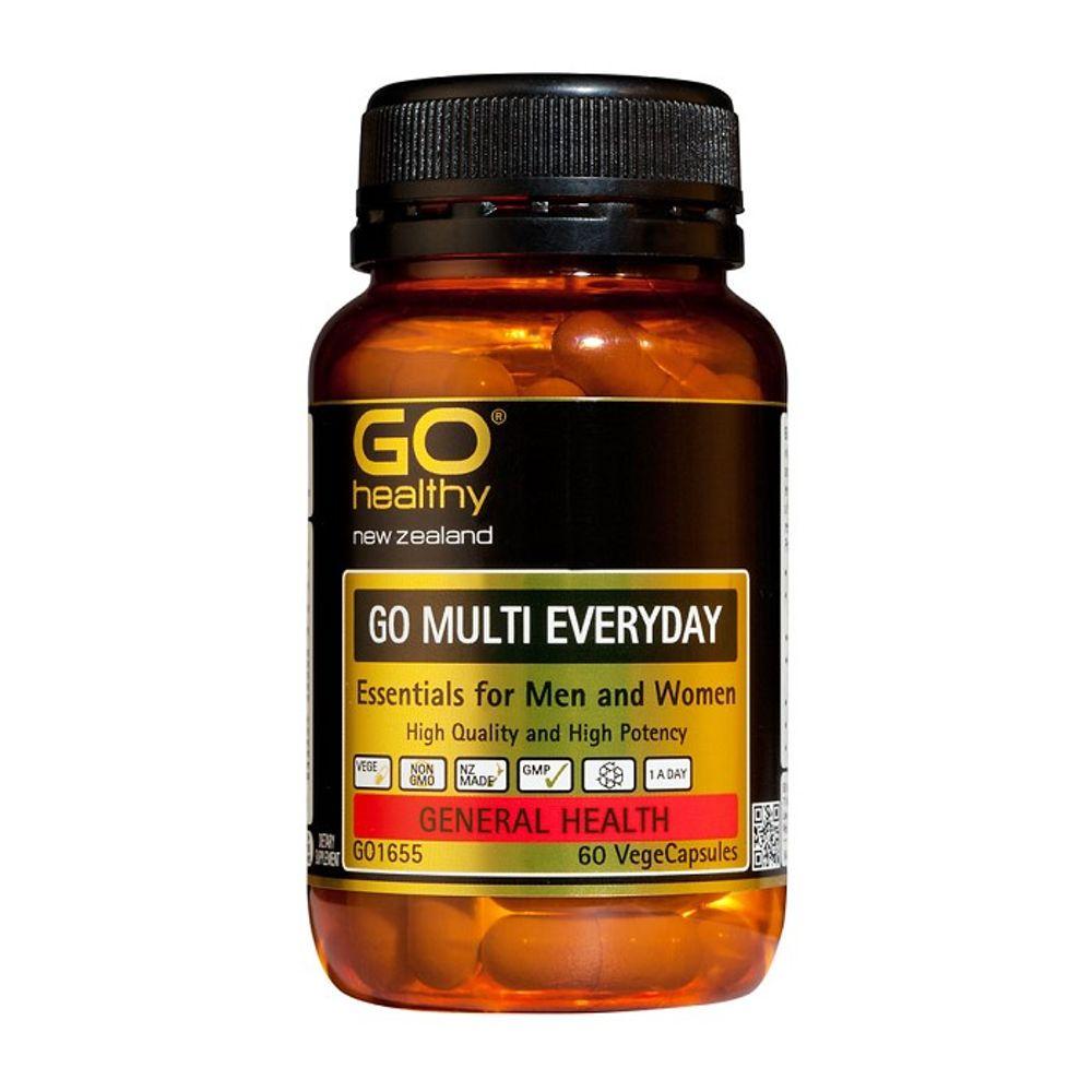 뉴질랜드 고헬씨 멀티 에브리데이 멀티비타민 60캡슐