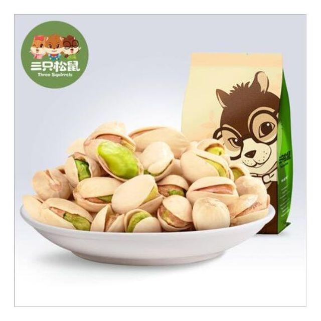 HOT신상 중국 유명한 견과 브랜드  건강에 좋은 간식 피스타치오 인기 임산부 간식225g X 2