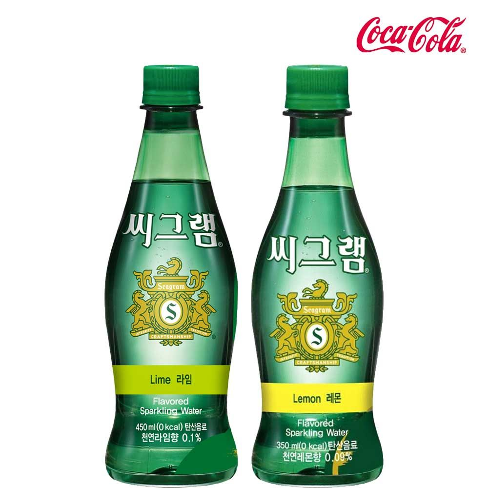 씨그램 레몬/라임 350ml X 각12개(총24개) 탄산수