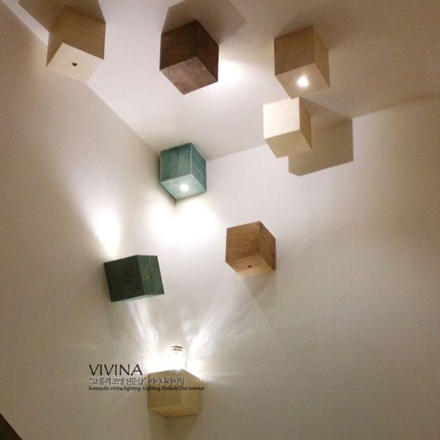GALH LED 코릭 5W 벽등/직부등 (2type/4color)