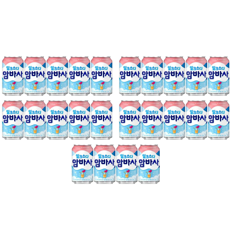 암바사 345ml 24개 코카콜라 탄산음료 캔음료