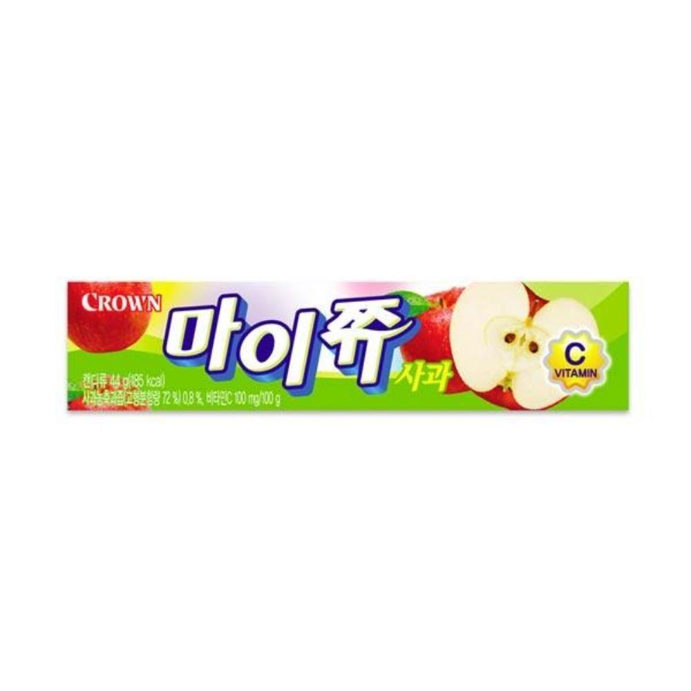 크라운 마이쮸 사과 스틱 44g 어린이간식 츄잉캔디
