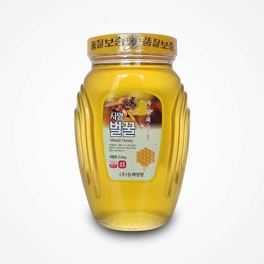 (동화양봉 )사양벌꿀 2.4kg