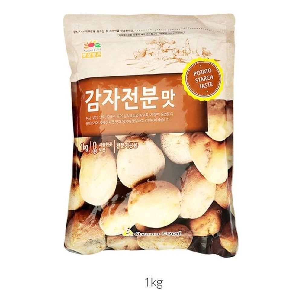 햇살빚은 감자 전분맛 1kg 튀김 부침 분식 중화 요리