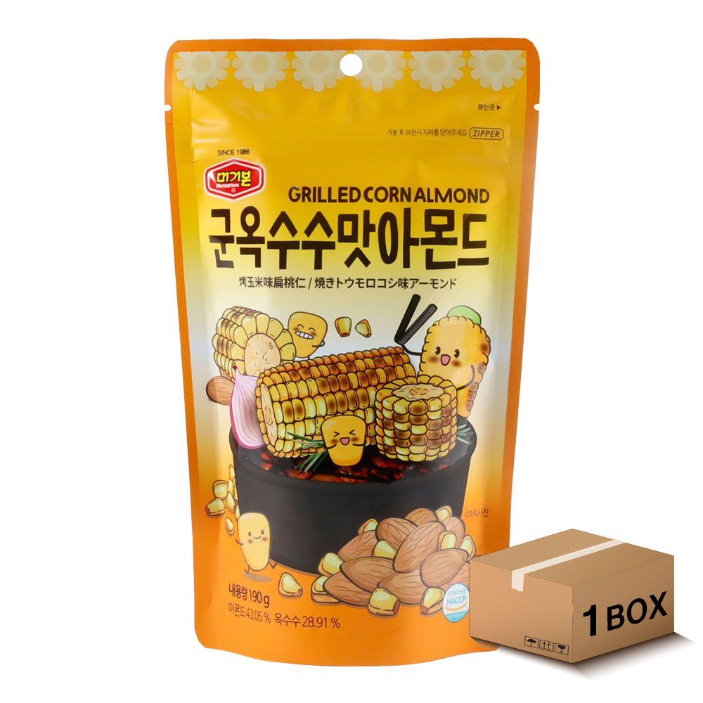 머거본 군옥수수맛아몬드 190g 20봉 1박스