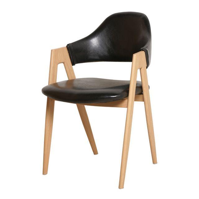 까페의자 인테리어 디자인체어 (블랙) 비올렛 스타일