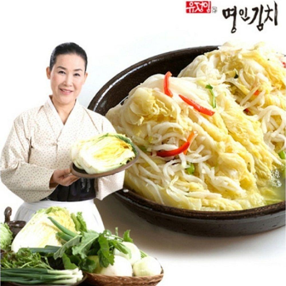식품명인 유정임의 명인김치 어머니맛 백김치 5kg