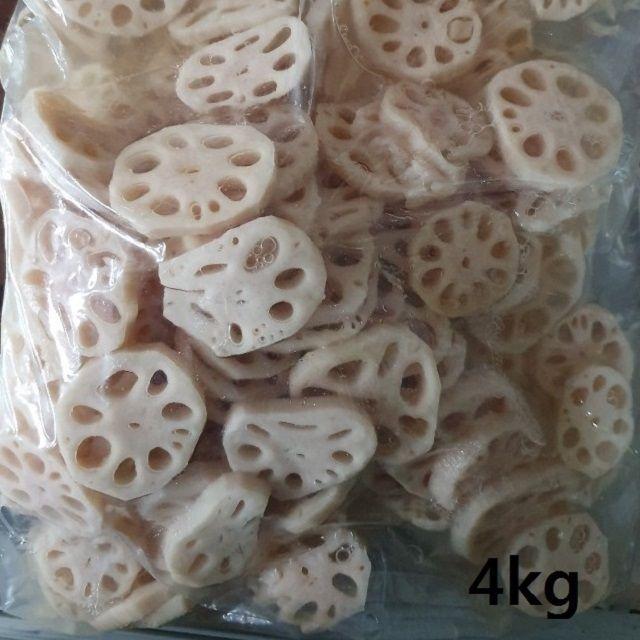 밥상의 보물 절임생염장 연근4kg