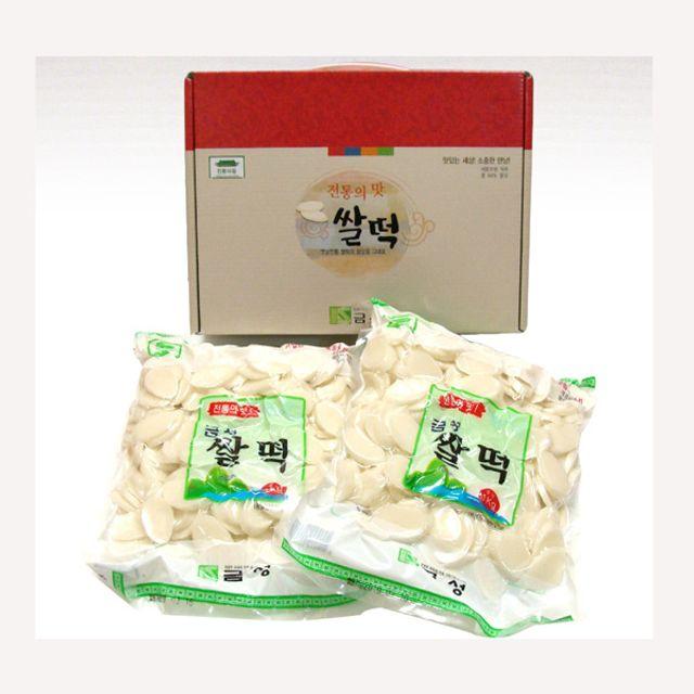 JAE 떡국 (쌀떡선물세트) 떡국선물세트