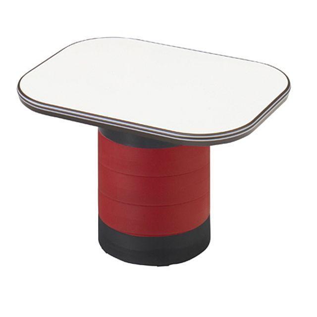 좌식 수납 테이블 레드 탁자 거실 다용도 작업 책상