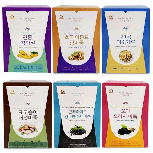 스틱형 간편한 식사대용 안동 참마밀 마죽 13포