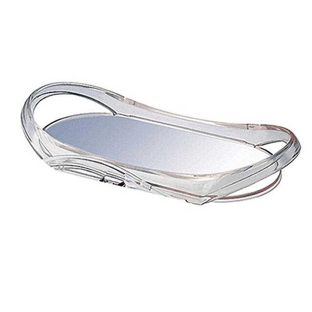 빠띠라인 쟁반거울(대)PL13-1 화장대 인테리어 거울 미용소품 화장소품 [제작 대량 도매 로고 인쇄 레이저 마킹 각인 나염 실크 uv 포장 공장 문의는 네이뽕]