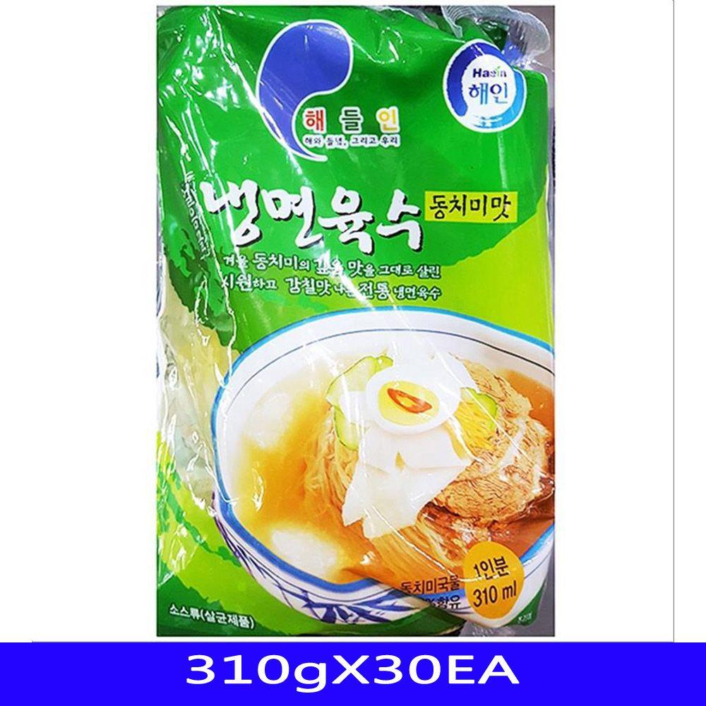 동치미 냉면육수 식자재 도매 업소용 해인 310gX30EA