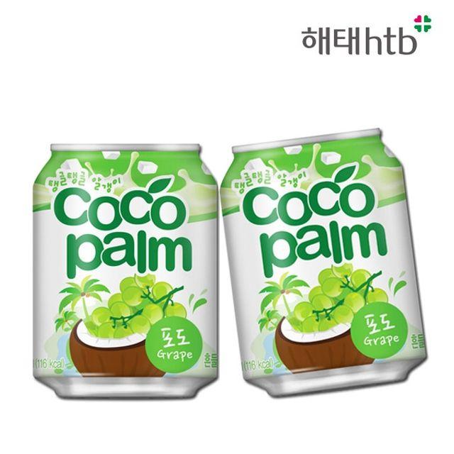 GnJ 코코팜음료 238ml12캔x6 코코팜포도맛 코코팜
