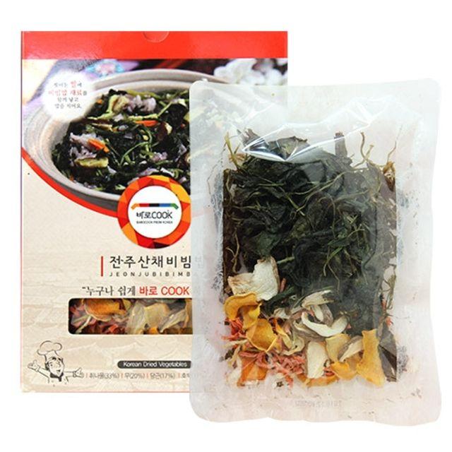 바로COOK 누구나 쉽게 만들어먹는 건나물밥(전주산채비빔밥) 30g 10팩