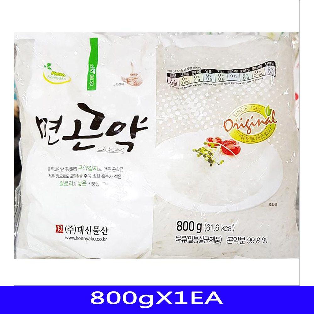 저칼로리 간식 면곤약 음식재료 대신물산 800gX1EA