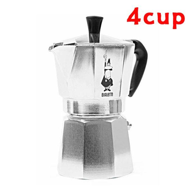 비알레띠 모카포트4cup 커피포트 알루미늄 4인용포트