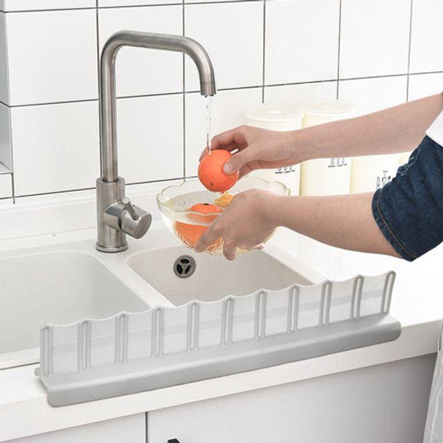 흡착식싱크대물막이 싱크대물튐방지 설거지용품