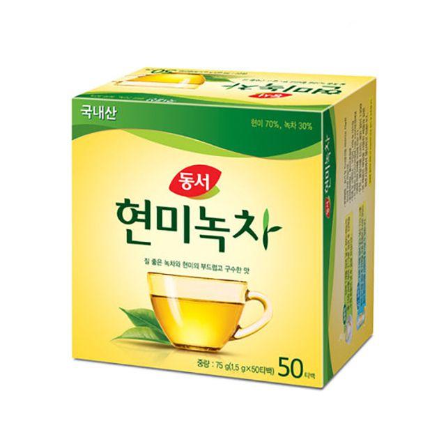 동서 현미 녹차 50티백 75g
