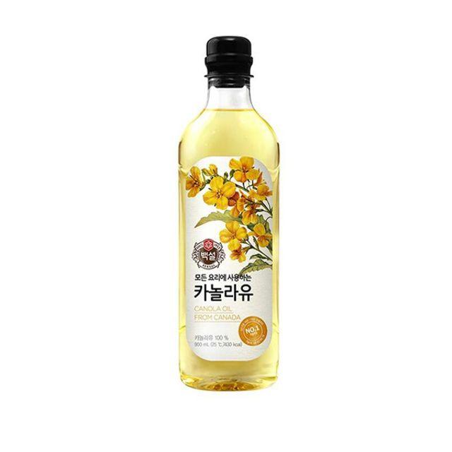 MY CJ백설 카놀라유0.9L