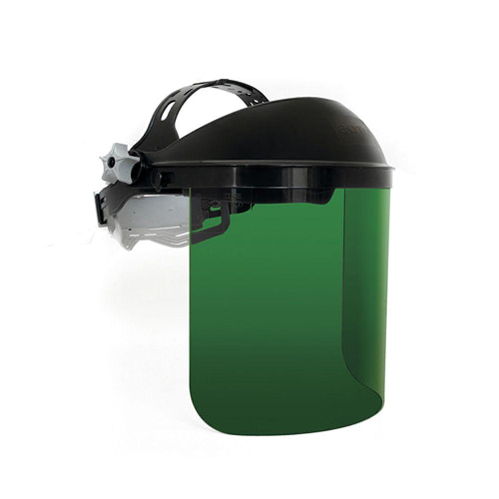 가스(산소)용접 사용 가능 산업용 보안면(맨머리형)
