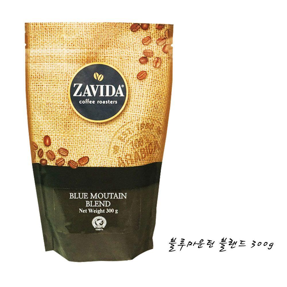 ZAVIDA COFFEE 블루마운틴 300g 향커피 원두 분쇄커피