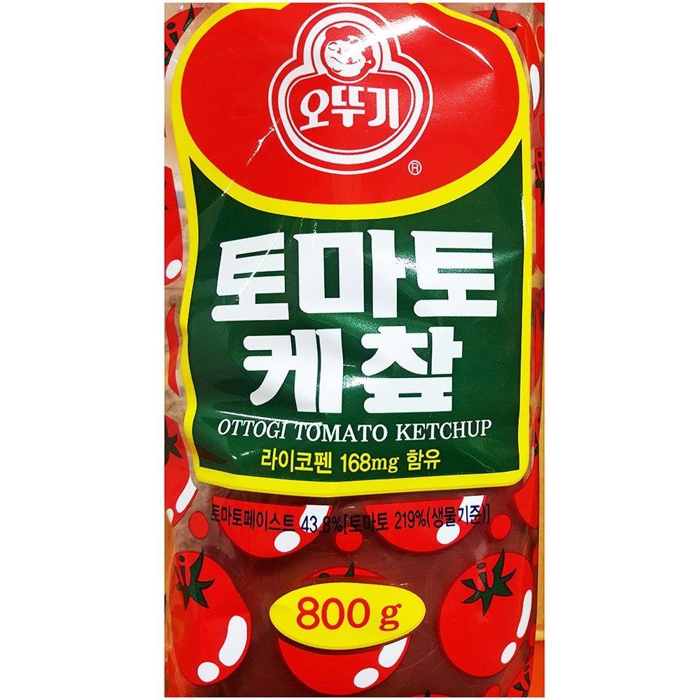 케찹 토마토 오뚜기 800g 식당용 케첩 캐찹 업소용