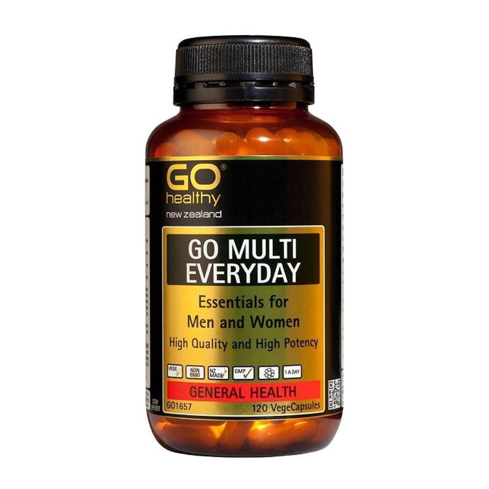 뉴질랜드 고헬씨 멀티 에브리데이 멀티비타민 120캡슐