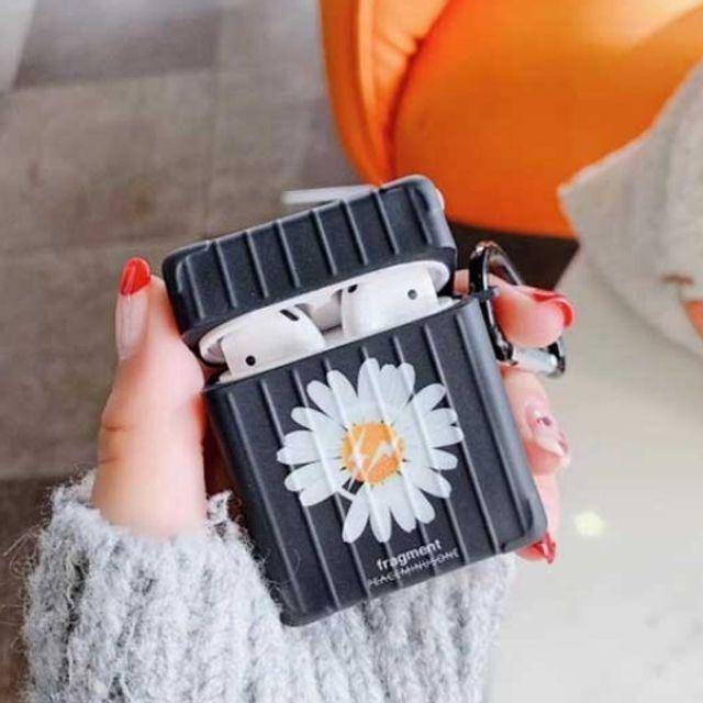 에어팟 케이스 플라워 캐리어 디자인 이어폰 케이스