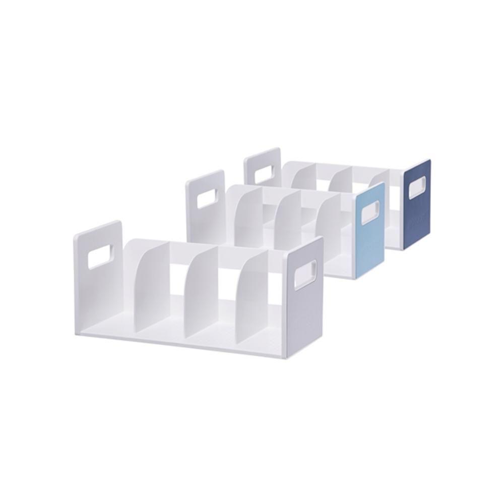리템 마이룸 책꽂이 4단 2개입 손잡이 서류 정리 진열