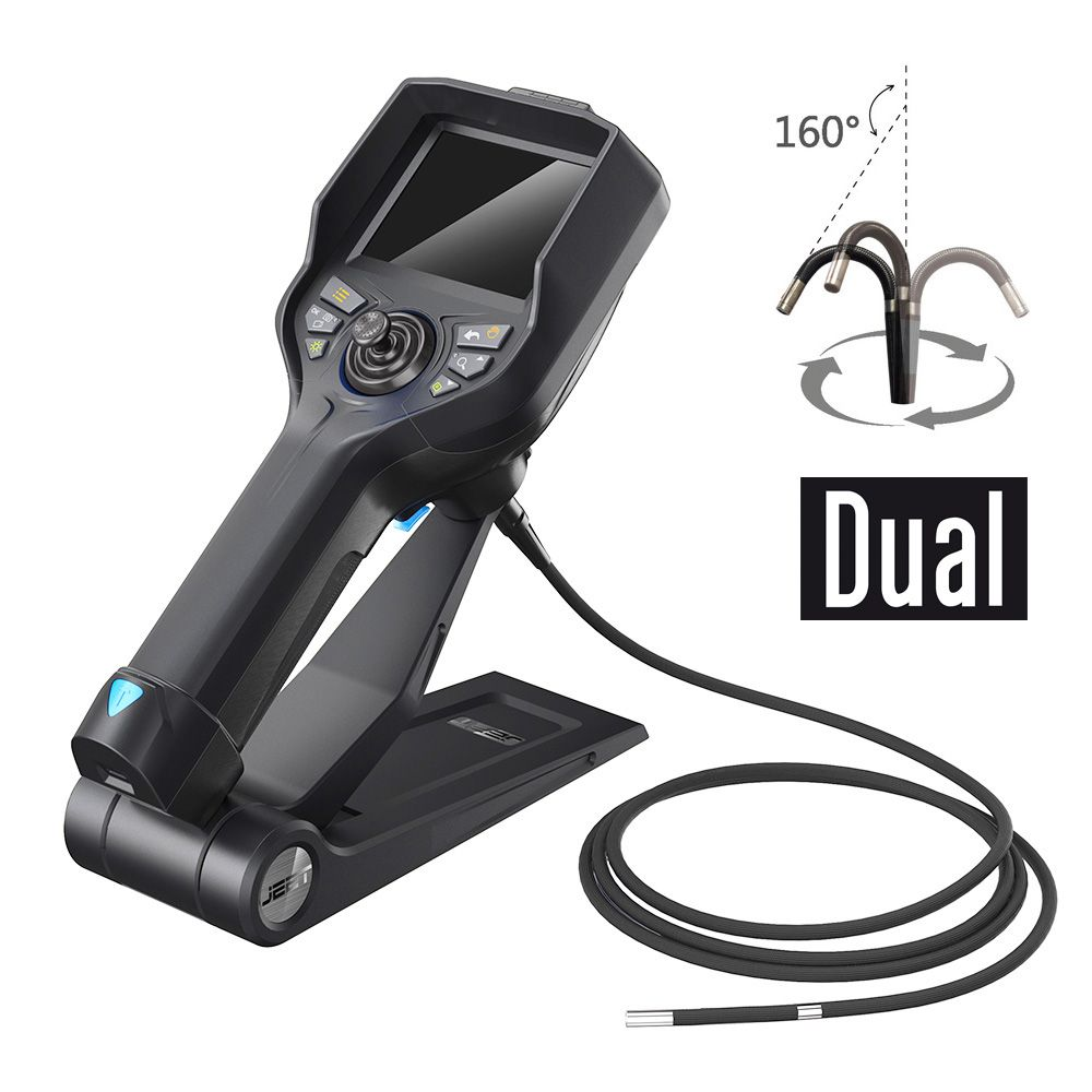 듀얼렌즈 관절형 고화질 산업용내시경 카메라_T35H-D6015_6mm_(1EA)